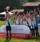 Junioren: D-Junioren der SG FV/FC Mosbach gewinnen den Kreispokal