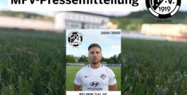 MFV trennt sich von Belmin Saljic