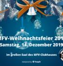 MFV-Weihnachtsfeier 2019 am 14.12.2019 im MFV-Clubhaus