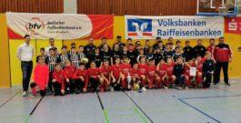 D-Junioren: Platz 3 und 7 bei der Endrunde der Futsal-Kreismeisterschaften