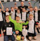 E-Junioren: Die E-Junioren sind Hallenkreismeister 2020
