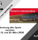 BFV setzt Spielbetrieb wegen Coronavirus aus