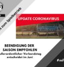 Fußballverbände in Baden-Württemberg empfehlen Beendigung der Saison 2019/20 – außerordentlicher Verbandstag entscheidet
