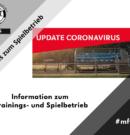 Information zum Trainings- und Spielbetrieb