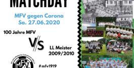 """10 Jahre Landesliga Meisterschaft 2010 – Ticketaktion """"MFV gegen Corona"""""""