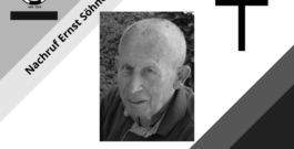 Nachruf Ernst Söhner