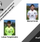 Lukas Tsiapkinakis und Marcel Grub verstärken den MFV